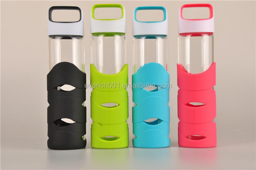 Silicone Sleeve Reusable Glass Water Bottles – Desenhos Para Colorir