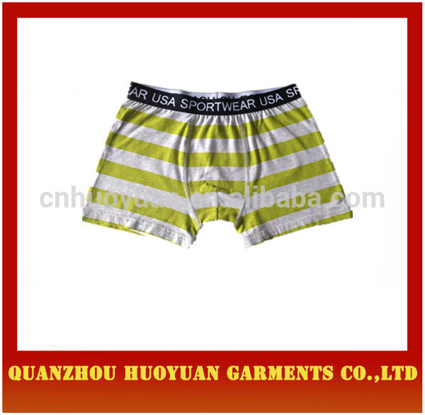 Huoyuan sexy hot sexi phto mens boxer briefs /custom underwear waistband and LOGO/print logo mans underwear collection