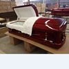 EMPEROR cheap wooden casket pet coffins wholesale