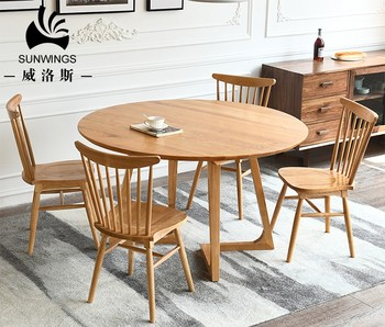 Awe Inspiring North American Ash Wood Round Table Modern Simple Korean Dining Table Set Buy Round Table Korean Dining Table Wood Dining Table Set Product On Download Free Architecture Designs Rallybritishbridgeorg