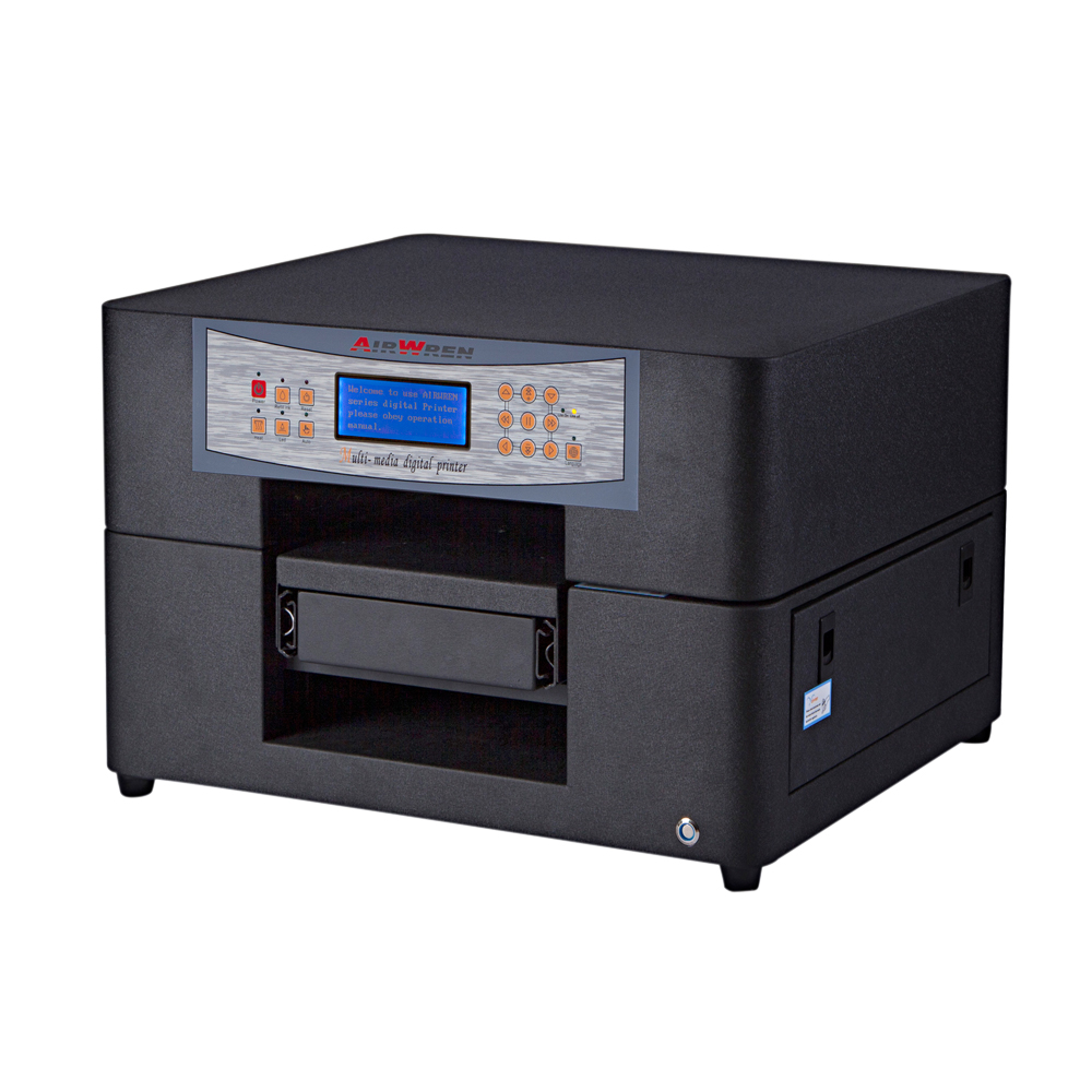 Airwren Led UV Printer A4 Digital Metal Printing Machine For Small Business