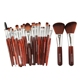 Quality Assurance 22 Pieces Private Label Make-Up Make Up Brushes Makeup Brush Set