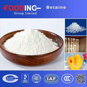 Only supplier can do food grade hcl 107-43-7 anhydrous betaine