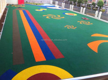 Rubber Product, Colored Playground Rubber Floor, Outdoor Playground Rubber Flooring -FN-D150627