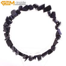 Каменная крошка из натурального материала, популярный Бисер для изготовления украшений, женские браслеты, сделай сам, подарок, 7 дюймов(Китай)