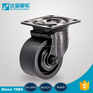 loaded 250 ~ 300 kgs 3 inch hand cart used caster wheel