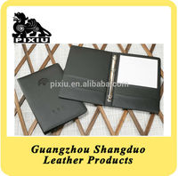 Custom Faux Leather Service Directory File Holder for Sale