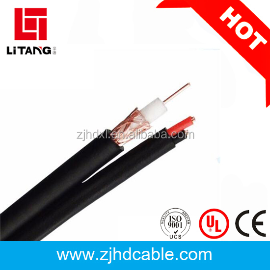 75ohm rg59 video power CCTV cable RG59+2c power coaxial cable
