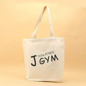 natural raw white canvas bag and canvas cotton tote bag with customer logo printed