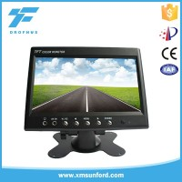 2016 China HOT Rearview car Monitor 7 inch digital TFT LCD car Monitor
