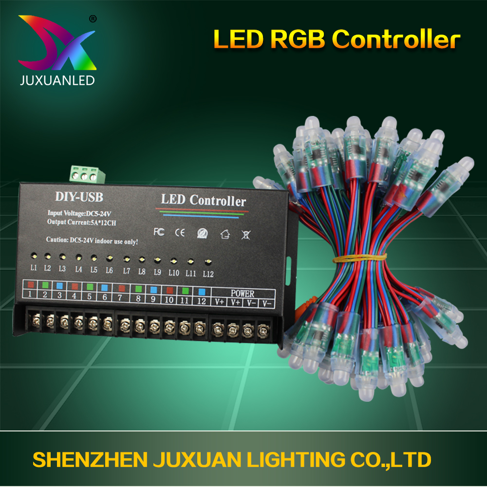 SD Card T-1000 Led Controller for Led Pixel Light, Led Module