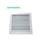 HVAC Ventilation Fixed Type Bathroom Exhaust Fan Return Air Filter Grill with Frame