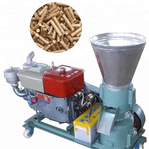 Home Use single phase Flat Die Small Animal Feed Pellet Making Machine/Pellet Mill price