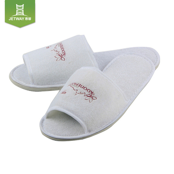 ad9b9dac4c1f Custom Waffle Embroidery Hotel Slippers Men s Shoes - Buy Men s ...