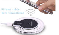 2017 New Arrival Free Sample Wireless Charger Good Quality Wireless Charging Pad for Mobile Phone