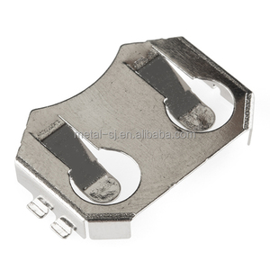 Surface Mount PCB Lithium Coin Cell Battery Retainer Clips
