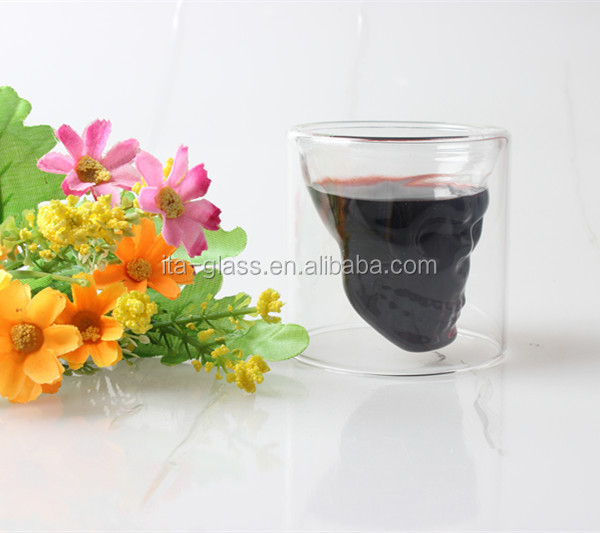 100ml glassware factory heat resistant clear pyrex drinking glass coffee cup hand blown stylish acrylic wine glass tumbler