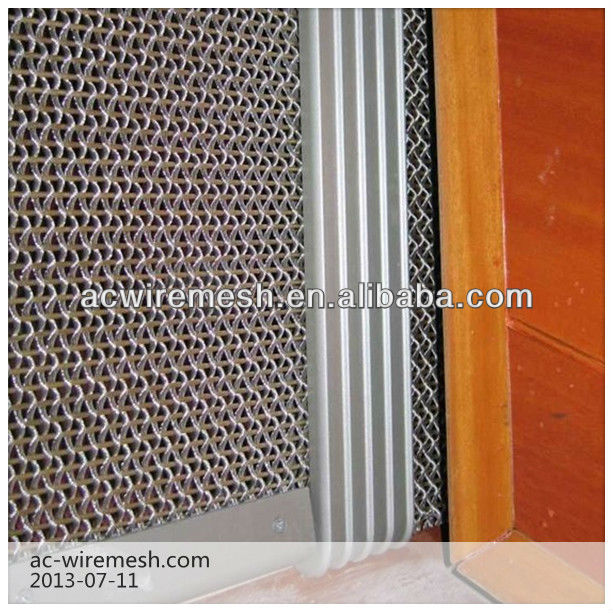 Tejido de malla metálica de decoracion de paredes malla de cordón ...