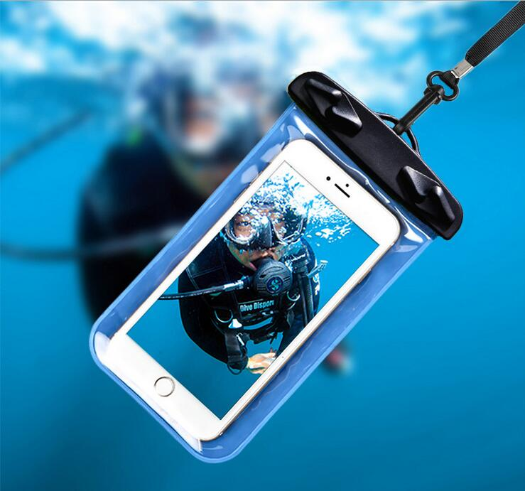 Waterproof Cell Phone Case Universal Dry Bag Pouch Best Water Proof For iPhone 7 6 6s Plus,for Samsuung S8 S7