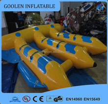 2016 inflatable fly fish water toy/ inflatable banana boat tube games