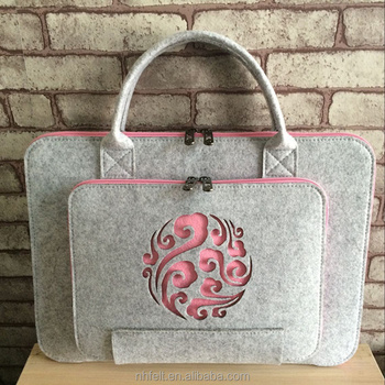 Beauty Cute fashion Designer felt tote bag