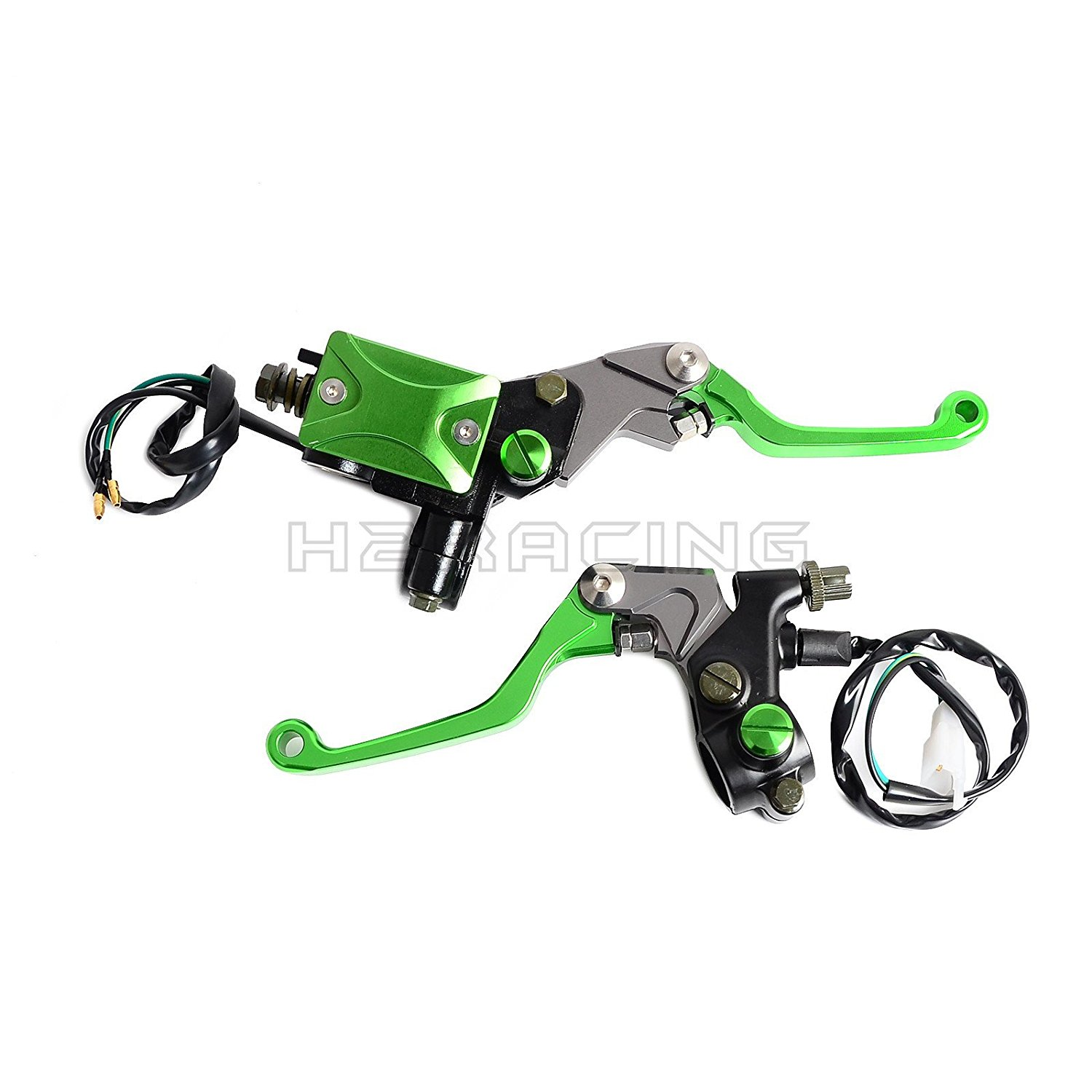 Cheap Honda 450 Motocross Find Deals On Line At 1970 125 Dirt Bike Get Quotations H2racing 7 822mm Front Green Brake Clutch Master Cylinder Reservoir Lever