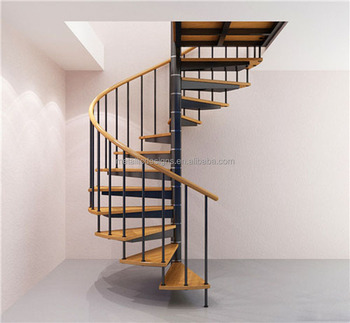 Hot sell wrought iron spiral staircase prices hot sell for Aluminum spiral staircase prices