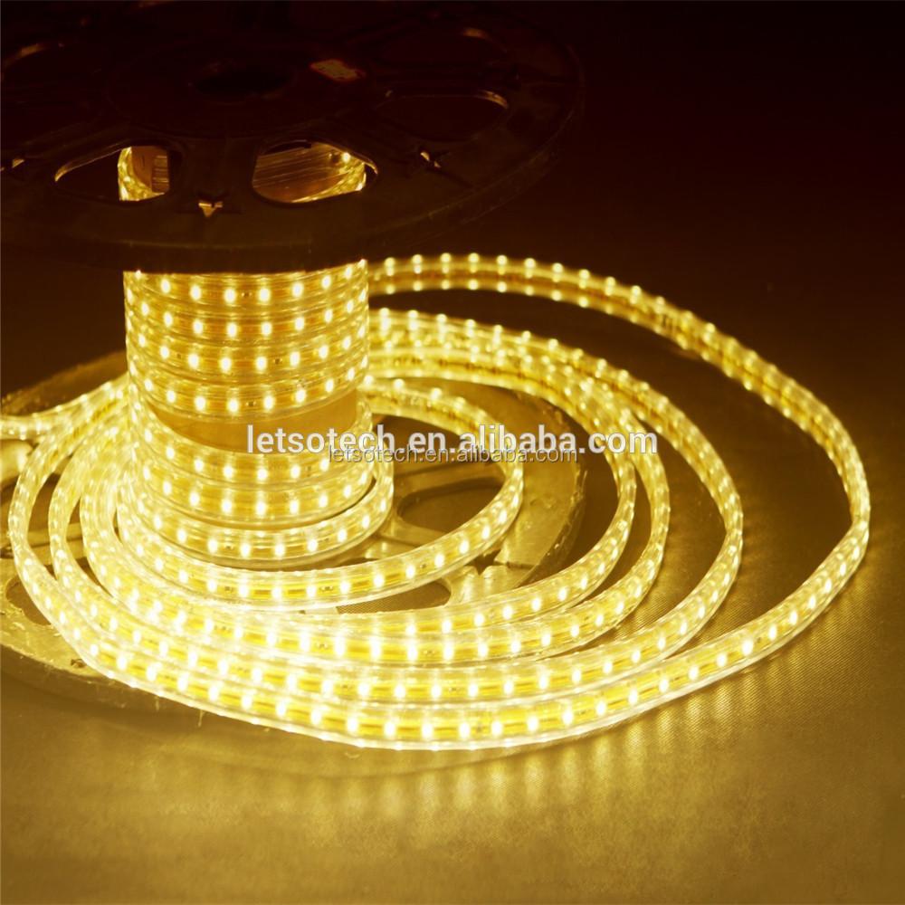 Uv Dc24v White Flexible 3 Years Warranty Led Rope Light With Self ...