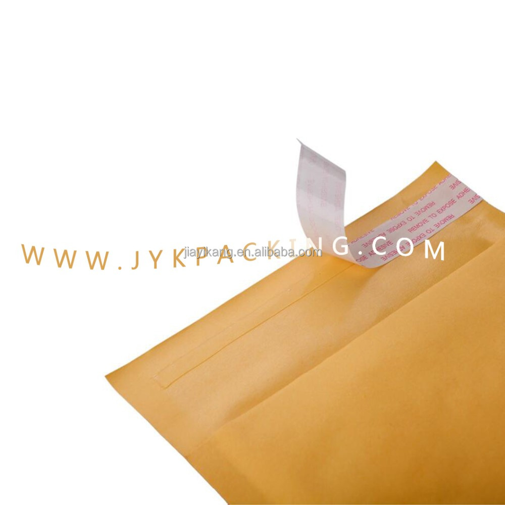 Kraft poly bubble mailer airjacket Buste