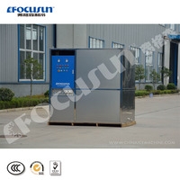 factory provide commercial use 2 tons/day plate ice machine small capacity