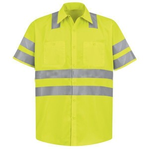 Good quality en20471 manufacture wholesale high visibility safety shirts