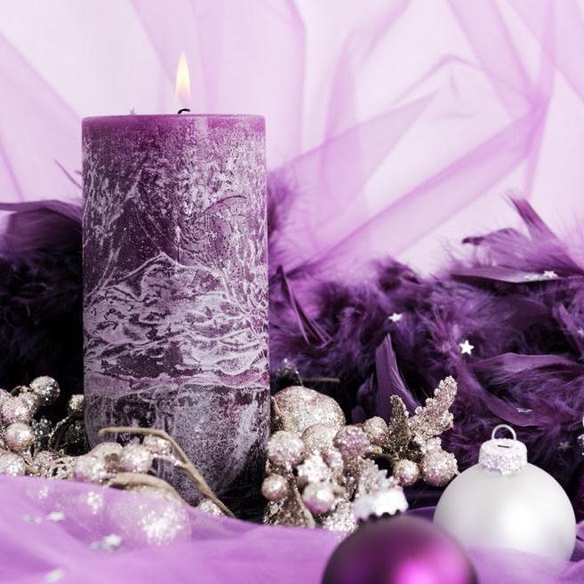 Frostwork Art Craft Leading Designer Customized Size Pillar Candles