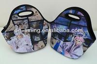 cute neoprene lunch cooler bags for ladies