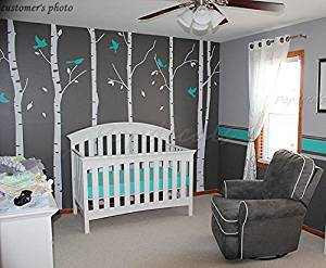 Get Quotations Six Birch Trees Decals Wall Decal Nature Vinyl
