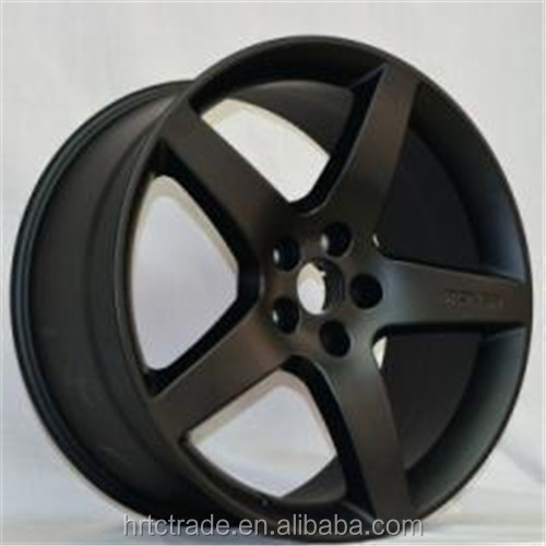 New design R20 black aluminum rims for car