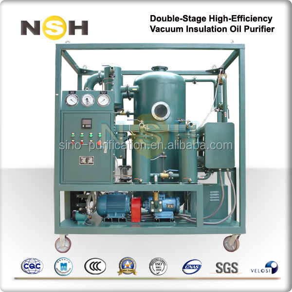 2016 Best Sale Used Vacuum Oil Used Oil Dewatering System