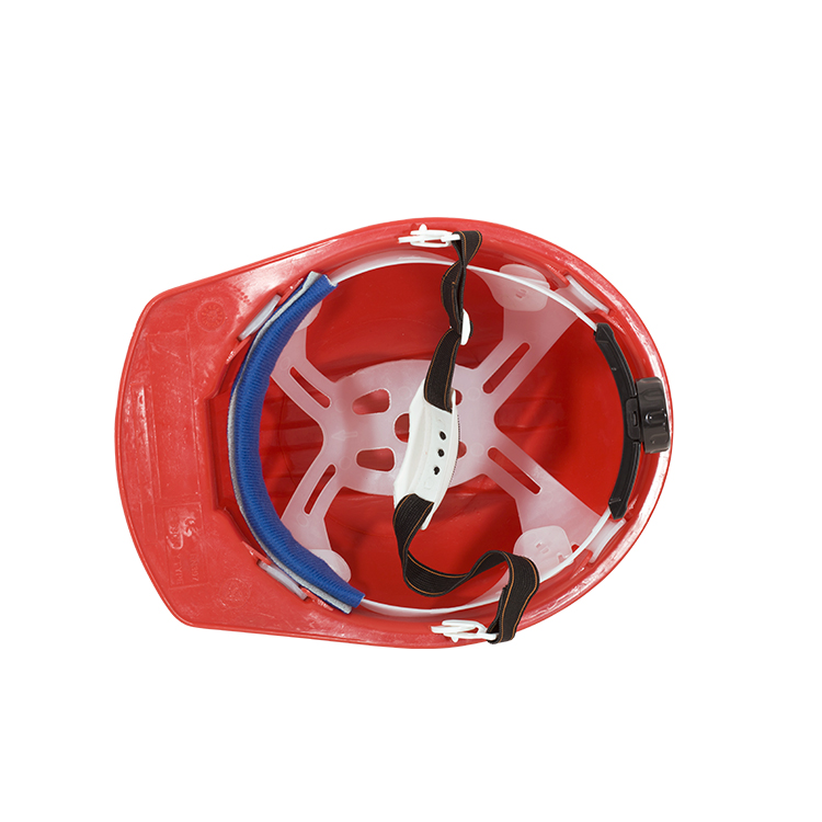 T090 CE EN397 ABS/PE Comfort Protective Hat Adjustable Safety Helmets For Construction