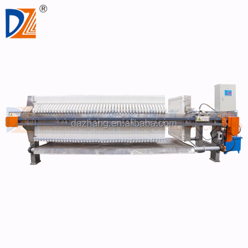 DaZhang 1000 SS Chamber Filter Press
