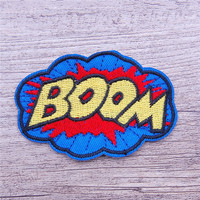 Custom wholesale brands High Quality 3D embroidery patch for clothing