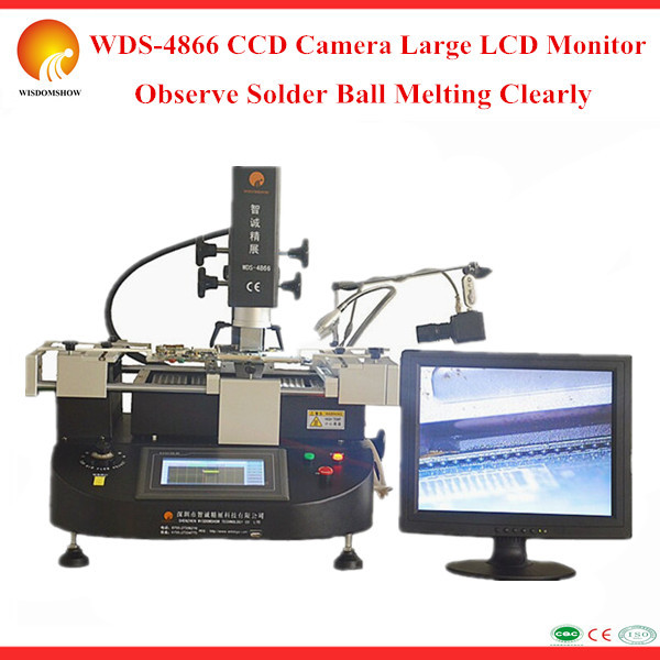 ALIEXPRESS Best Selling WDS-4866 infrared BGA welding tools for notebook Wii PS3 mainboard repairing With HD CCD & LCD