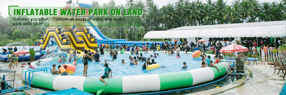 inflatable water park price