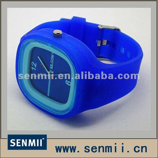SM-SJW 004 Watch Jelly Silicone