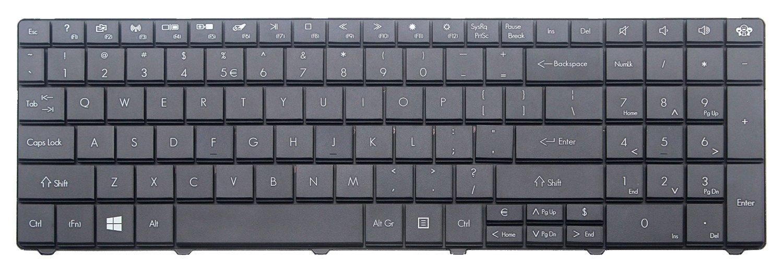 CHNASAWE Laptop replacement Black Keyboard for Gateway NE56R27U NE56R35U NE56R34U NE56R31U NE56R10u NE56R14u NE51B14u NE51B10u NE56R11u NE56R12u NE56R13u NE56R34u NE56R15u US Layout