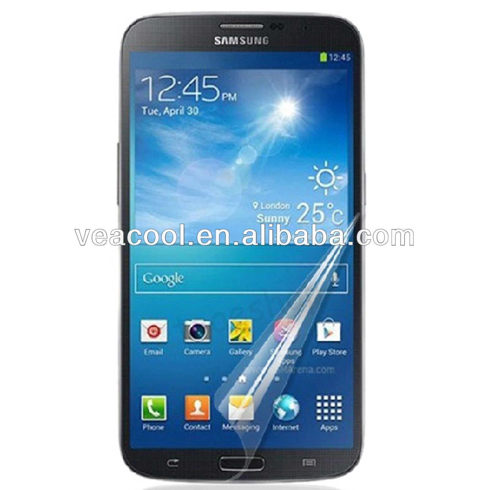 LCD Clear Screen Protector Guard File for Samsung Galaxy Mega 6.3 i9200