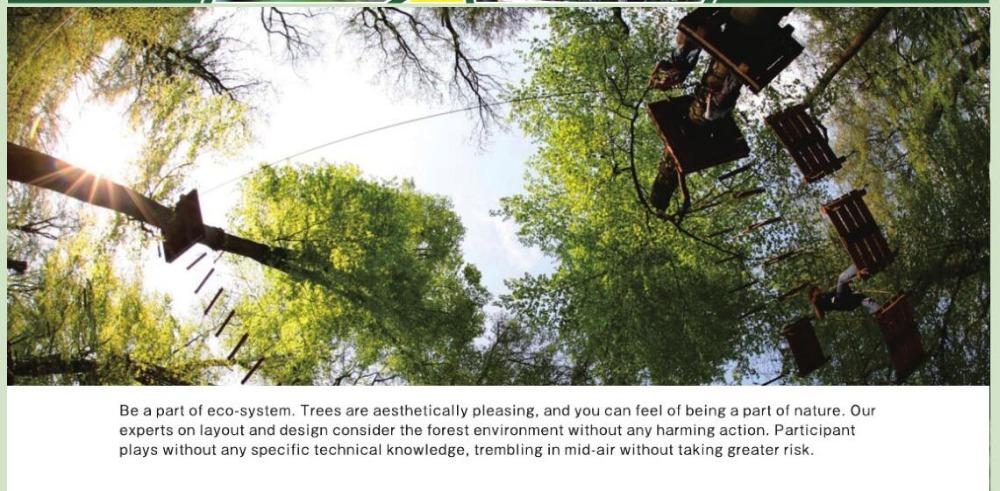 Forest Park Abenteuer Klettergerüst Seil Natürlich,Abenteuer Wald ...
