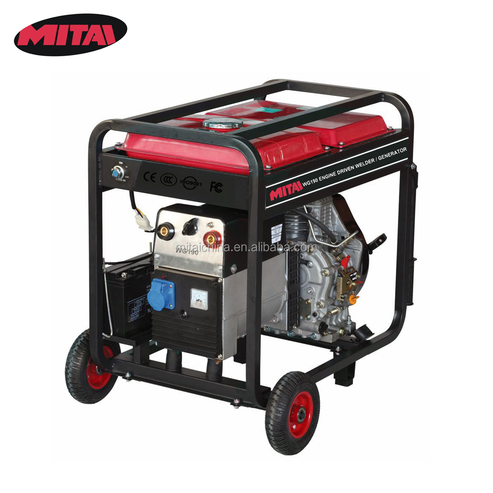 Arc Welding Machine Price List with 15HP Engine