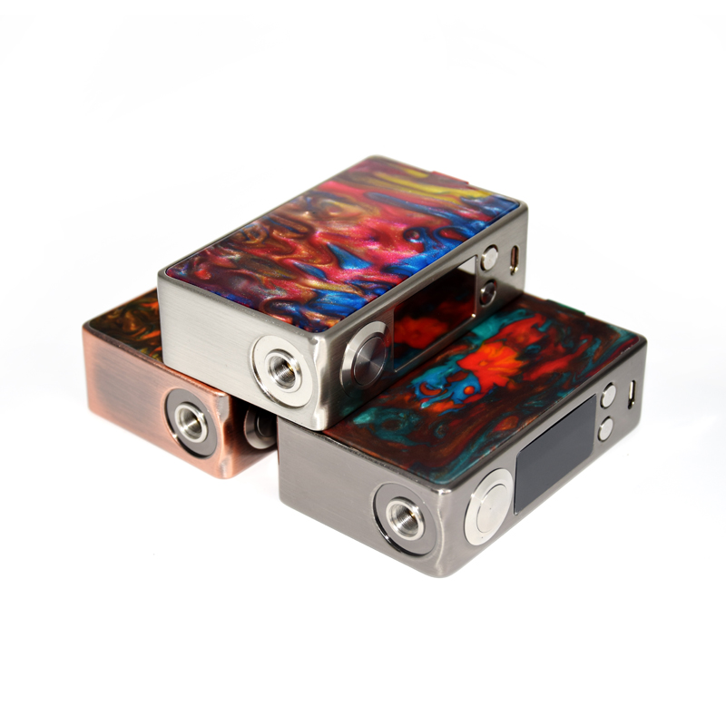 New Funky 160W box mod Electronic Cigarette 18650 battery Luxurious packing vape pen For 510 RDA Atomizer vape kits