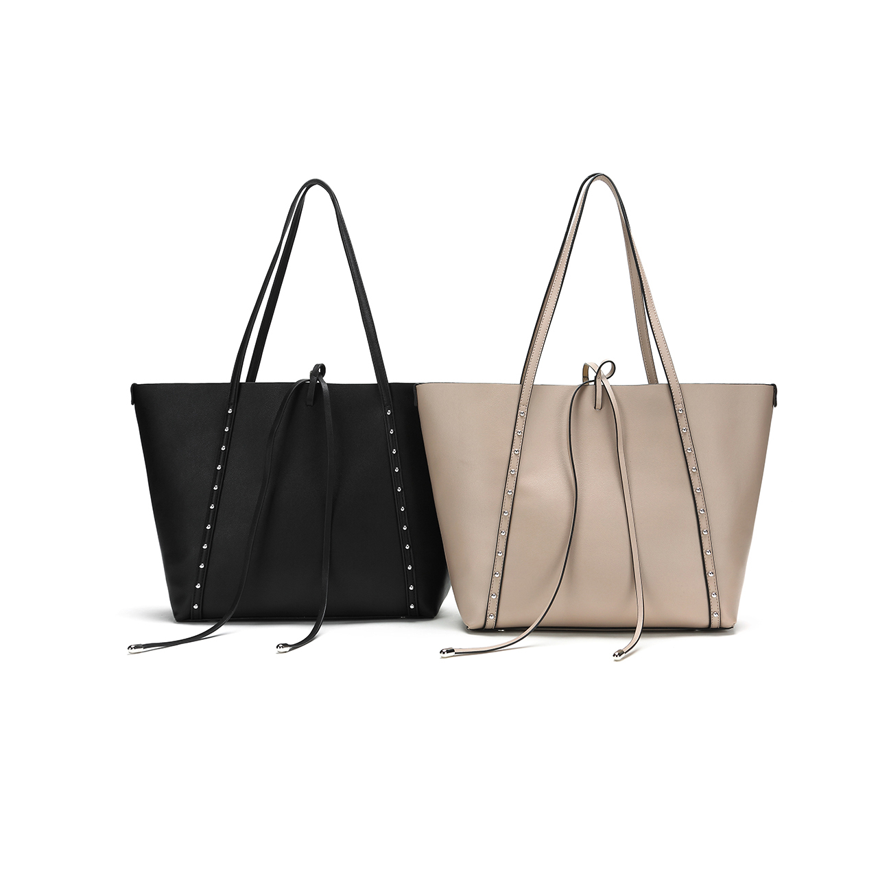 elegant ladies leather handbags tote online for date-1