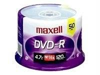 Maxell Dvd-r 50pk Spindle 16k - For Ms1 Consumer Electronics Electronics