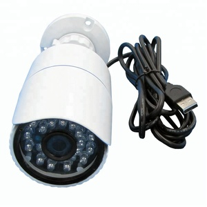850nm IR Led Day Night Vision Webcam Aluminum Case Vandal-Proof Waterproof Indoor 720P HD Outdoor Bullet USB Camera